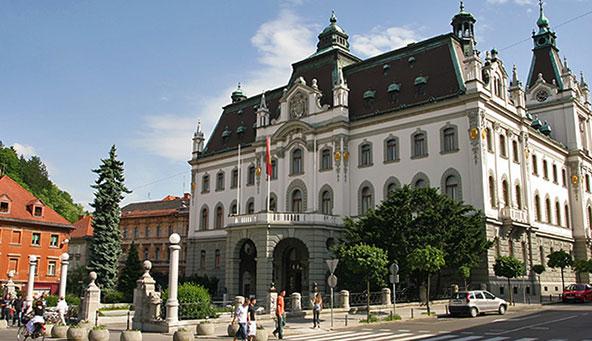 Люблянский универститет — словенское время